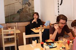 Essen im Natsu